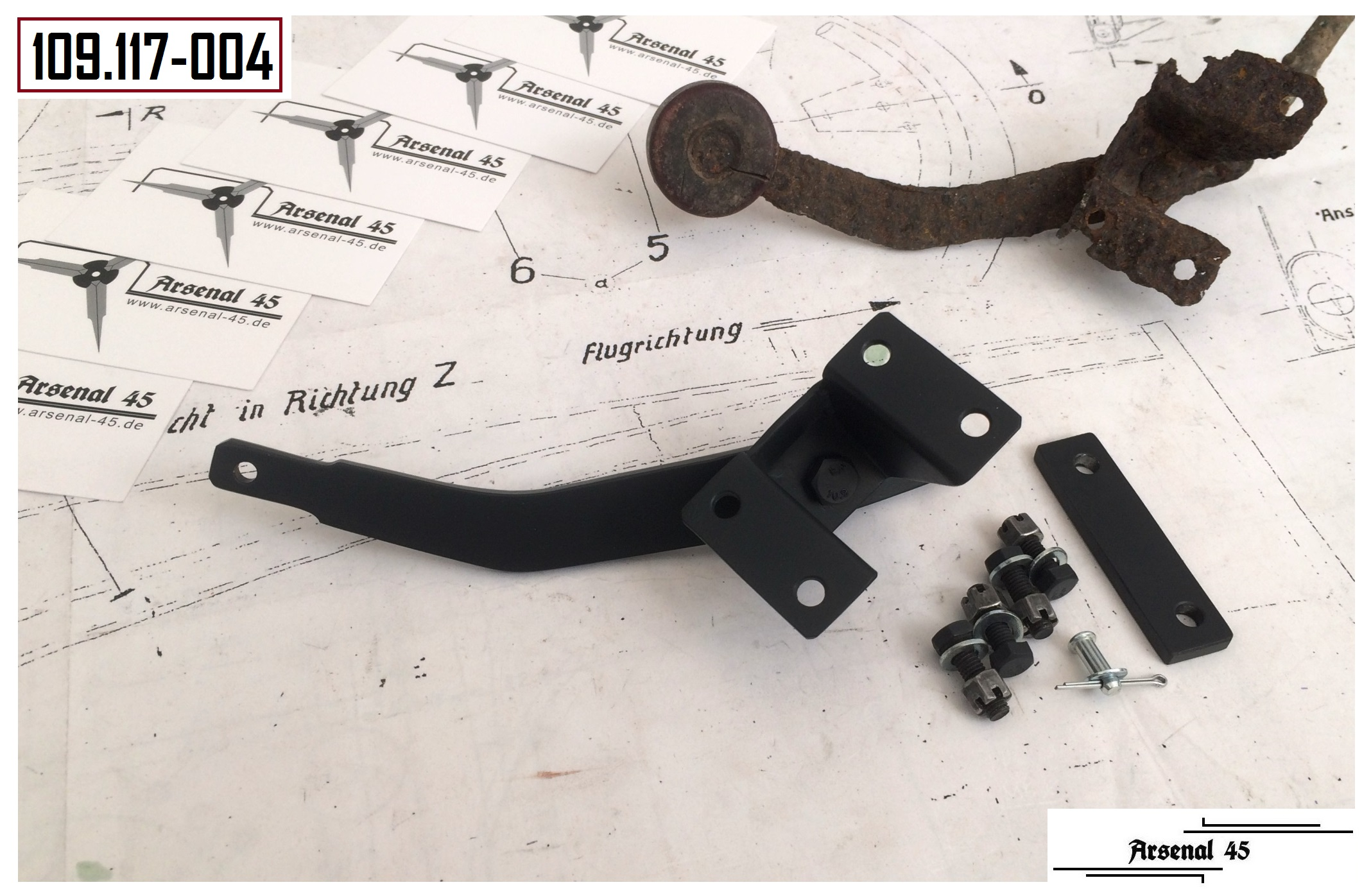 +++ canopy emergency release lever - Messerschmitt Bf109 G (early) ++ & Arsenal45