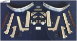+++ wing root front cover structure parts - Messerschmitt Bf109 F/(early) G +++